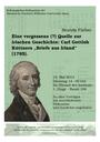 Dr. Beatrix Färber: Eine vergessene (?) Quelle zur irischen Geschichte